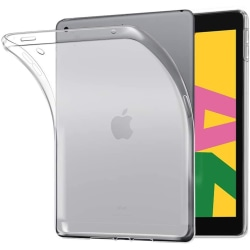 "iPad 10.2"" 2019/2020 Skal Slim Case - Genomskinlig Silikon Transparent"
