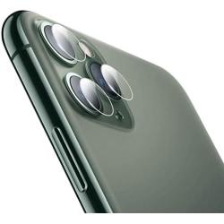 iPhone 11 Pro Max Linsskydd Härdat glas för Kamera Transparent