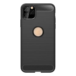 iPhone 11 Pro Max Skal - Anti-Impact Stöttåligt Skal - Svart Svart