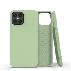 iPhone 12/12 Pro Silikonskal - Liquid Silicone Cover -  Grön