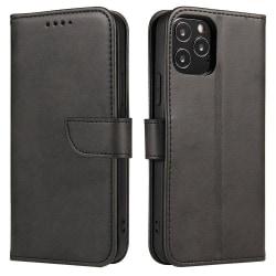 iPhone 12 Mini Plånboksfodral Svart