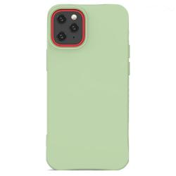 iPhone 12 Mini Skal Silicone Slim Case Soft Grön