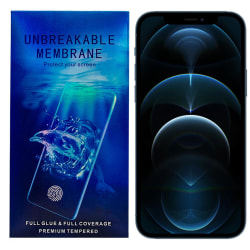 iPhone 12 Mini Skärmskydd Fullskärm - Oförstörbar Membran  Transparent