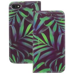 iPhone SE 2020/8/7 Plånboksfodral Fodral - Jungle Svart