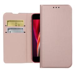 iPhone SE 2020/8/7 Plånboksfodral Premium - Roseguld Rosa guld