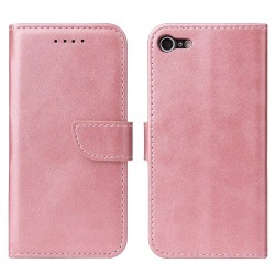 iPhone SE 2020/8/7 Plånboksfodral Rosa