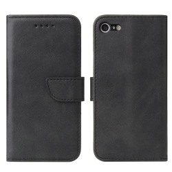 iPhone SE 2020/8/7 Plånboksfodral Svart