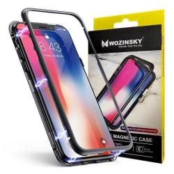 iPhone XS Max 360 Magnetiskt Stöttåligt Skal - Svart Svart