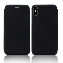 iPhone XS Max Fodral - Plånboksfodral Svart Svart