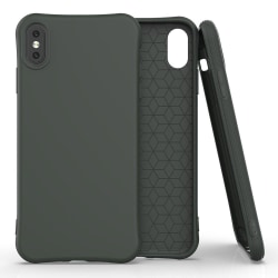 iPhone XS Max Skal Navy-Green Matte Premium Grön