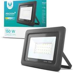 LED strålkastare 30W Utomhus NeutralVit 4500K IP66 Svart