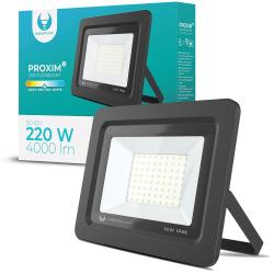 LED strålkastare 50W Utomhus NeutralVit 4500K IP66 Svart