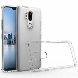 LG Q7/Q7 ThinQ Skal Ultra-Slim - Transparent Transparent