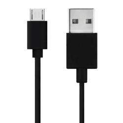 Maxlife™ 1M Meter Micro-USB Laddningskabel Samsung/Sony/Huawei Svart