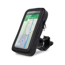 Maxlife™ Mobilhållare till MC, Moped, Cykel Vattentät - XL Svart