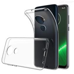 Motorola Moto G7 Plus Skal Ultra-Slim Genomskinligt Transparent