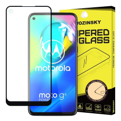 Motorola Moto G8 Power Härdat Glas [Full-Cover] Transparent