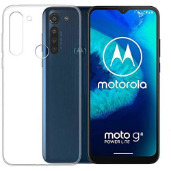 Motorola Moto G8 Power Lite Skal Ultra-Slim Genomskinligt Transparent