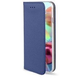 Motorola One Hyper Fodral - Plånboksfodral Blå Blå