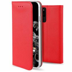 Motorola One Hyper Fodral - Plånboksfodral Röd Röd