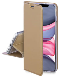 Motorola One Macro Plånboksfodral Fodral - Guld Guld