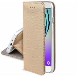 Motorola One Zoom Fodral - Plånboksfodral Guld Guld