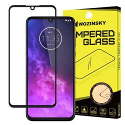 Motorola One Zoom heltäckande Skärmskydd  Transparent