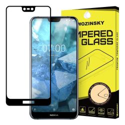 Nokia 7.1 Härdat Glas l CURVED [Full-Cover] Transparent