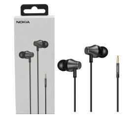 Nokia WH-301 Hörlurar med mikrofon in-ear - Svart Svart