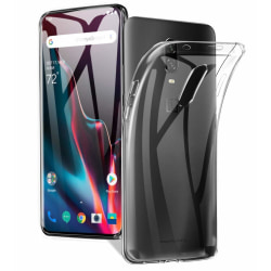 OnePlus 7 Pro Ultra-Slim Transparent TPU Skal  Svart