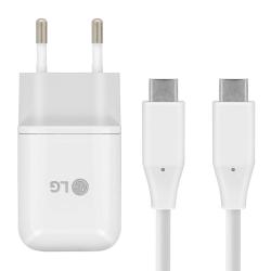 Original LG Quick Charger USB-C till USB-C Väggladdare