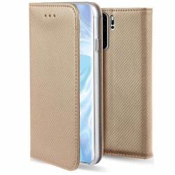 Plånboksfodral Huawei P30 Pro - Flip fodral Guld Guld