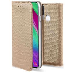 Plånboksfodral Samsung A40 - Flip fodral Guld Guld
