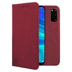 Plånboksfodral Samsung S20 Ultra - Flip fodral - Burgundy Röd
