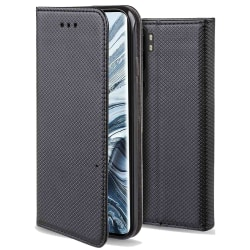 Plånboksfodral Xiaomi Mi Note 10 - Flip fodral Svart