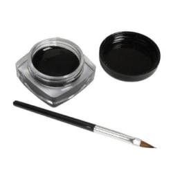 professionell eyeliner med pensel Svart Svart
