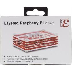 Rasberry PI Case / Chassi - Akryl