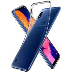 Samsung A10 Skal i genomskinligt gummi Transparent