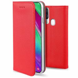 Samsung Galaxy A10 Fodral - Plånboksfodral Röd Röd