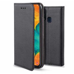 Samsung Galaxy A10 Fodral - Plånboksfodral Svart Svart