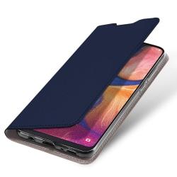 Samsung Galaxy A10 Plånboksfodral Fodral - Navy Blue Blå