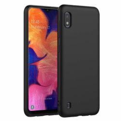 Samsung Galaxy A10 Skal Silicone Slim Case - Svart Svart
