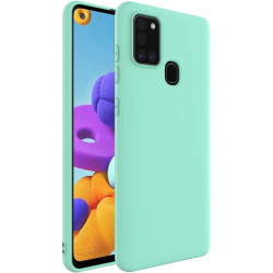 Samsung Galaxy A21s Silicone Case - Mint Silikonskal Grön