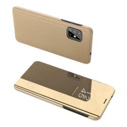Samsung Galaxy A21s Smart View Fodral - Guld Guld