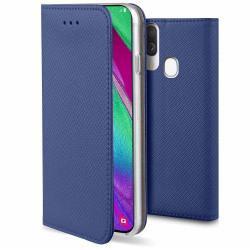Samsung Galaxy A40 Fodral - Plånboksfodral Blå