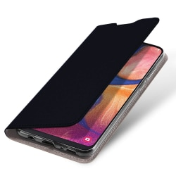 Samsung Galaxy A40 Plånboksfodral Fodral - Svart Svart