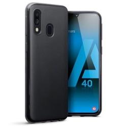 Samsung Galaxy A40 Skal Silicone Slim Case Svart