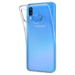 Samsung Galaxy A40 Ultra-Slim Genomskinligt Skal Transparent