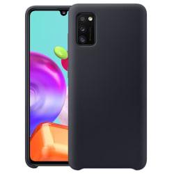 Samsung Galaxy A41 Silicone Case - Svart Silikonskal Svart