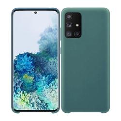 Samsung Galaxy A51 Silicone Case - Grönblå Silikonskal Grön